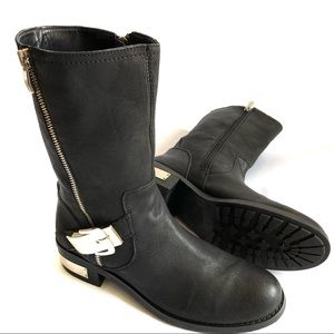 Vince Camuto • Motto Leather Boot• 8.5